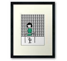 Drawing and Writing Framed Print