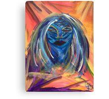 Night Mask Canvas Print