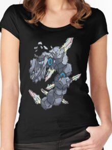 Becca's Mega Steelix Women's Fitted Scoop T-Shirt