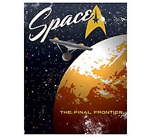 Space The Final Frontier Photographic Print
