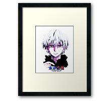 Tokyo Ghoul - Kaneki Ken  Framed Print