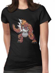 Derek's Tyrantrum Womens Fitted T-Shirt