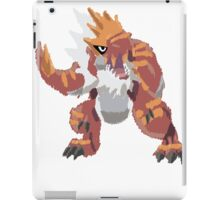 Derek's Tyrantrum (No outline) iPad Case/Skin