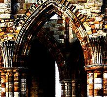 Whitby Abbey x4 by JoCr