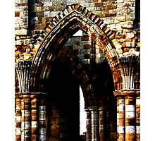 Whitby Abbey x4 Photographic Print