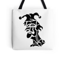 harlequin tattoo turned to left Tote Bag