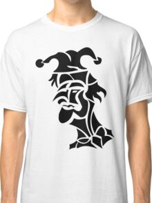 harlequin tattoo turned to left Classic T-Shirt