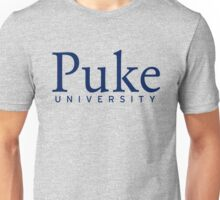 Duke Puke University Unisex T-Shirt