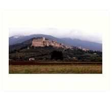 Bella Assisi Art Print