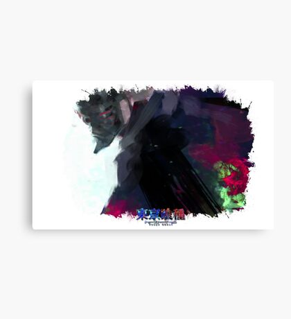 Tokyo Ghoul - One Eyed Owl (Ed Card) With Logo Canvas Print