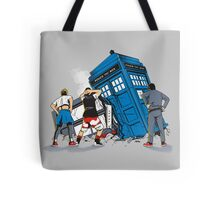 TIME CRASH Tote Bag