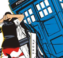 TIME CRASH Sticker