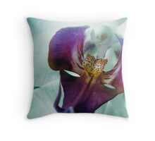 Orchid's mask Throw Pillow