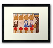WATER INTO WINE Framed Print