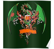 Beer and Ale Dragon Poster