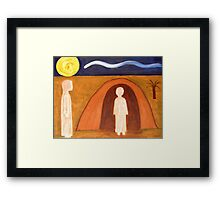 THE RAISING OF LAZARUS Framed Print