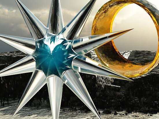 Celestial Star Ring by Keith Reesor