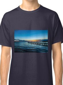 Sunset over the Slovenian Coastline Classic T-Shirt