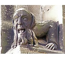 Gargoyle at the Priory Photographic Print