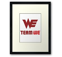 Team World Elite Framed Print
