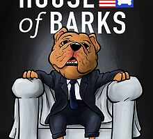 House of Barks bulldog cartoon by DogiStyle