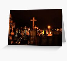 Brid Cemetery Greeting Card