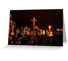 Brid Cemetery Greeting Card