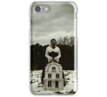 I Will Watch Over You iPhone Case/Skin