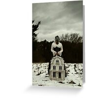 I Will Watch Over You Greeting Card