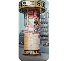 Vintage Paris Street Life 1956 SUZE iPhone Case/Skin