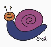 Trackpad Snail Baby Tee