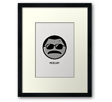 Mercury Framed Print