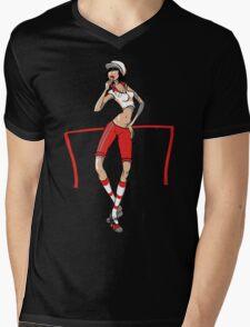 Referee Mens V-Neck T-Shirt