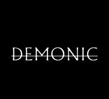 Demonic Tee by wvtchbeats