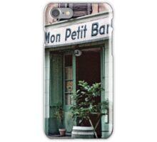 Vintage Paris 1956 Bar iPhone Case/Skin