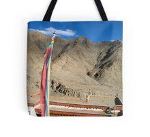 sky gods. ladakh, india Tote Bag