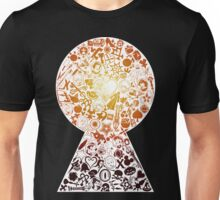 Kingdom Hearts - Keyhole (orange) Unisex T-Shirt