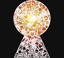 Kingdom Hearts - Keyhole (orange) Unisex T-Shirt