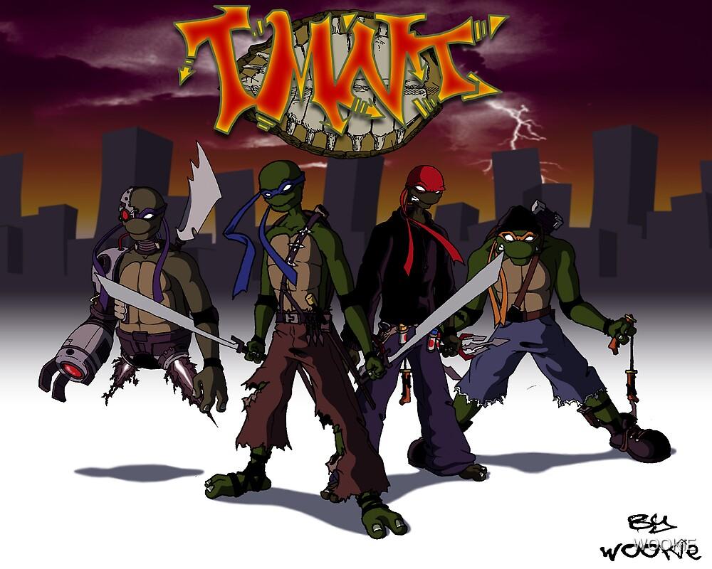 Teenage Mutant Ninja Turtles by WOOKiE