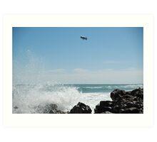 Ocean Blimp Art Print