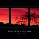 Edinburgh Sunrise by Chris Clark