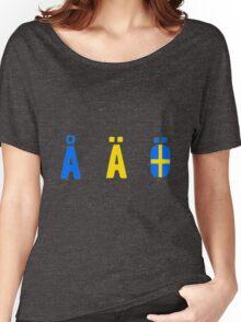 Å Ä Ö Women's Relaxed Fit T-Shirt
