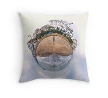 Mini World of Sandown Pier Throw Pillow