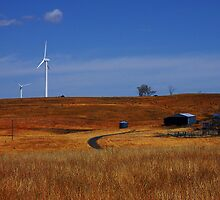 Crookwell Wind Farm by Brian Rope