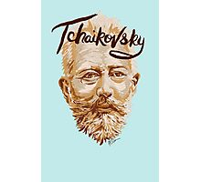 Tchaikovsky - classical music composer Photographic Print