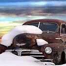 Rusty Car by Joerg Schlagheck