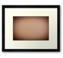 Beige cardboard textured abstract Framed Print