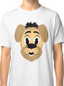 cartoon style dog head Classic T-Shirt