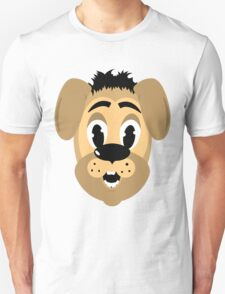 cartoon style dog head T-Shirt
