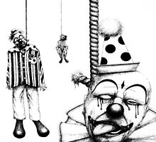 Hanging Clowns by seanart